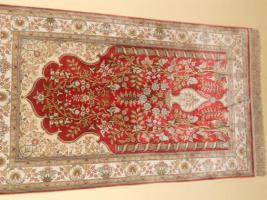 Verkaufe 2 Teppiche aus Seide, Handarbeit