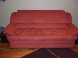 Verkaufe 3 er Sofa / Couch mit Federkern