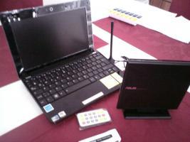 Verkaufe ein Asus Notebook 1005 HA mit Ext. DVD Brenner und DVB T Empf.