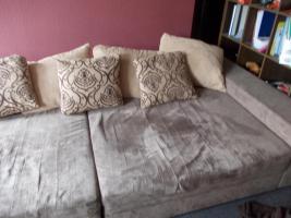 Foto 2 Verkaufe Big Couch (DRINGEND wegen Umzug)