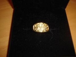 Verkaufe Böhler-Ring (Böhler Uddeholm), Gold