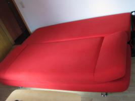 Foto 2 Verkaufe Doppelschlafsofa mit Bettkasten
