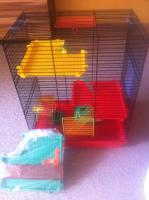 Verkaufe Hamsterk�fig