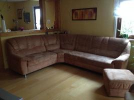 Foto 5 Verkaufe Himolla Ecksofa mit Fernsehsessel und Hocker in gutem Zustand