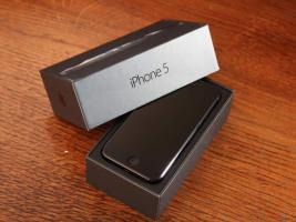 Verkaufe Iphone 5 schwarz Simlockfrei