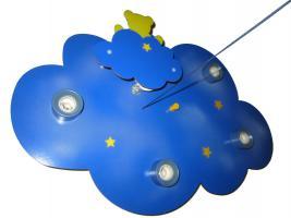 """Foto 4 Verkaufe Kinderleuchte / Deckenleuchte """"Wolkenhimmel mit Nachtlicht Bär"""" für Kinderzimmer"""