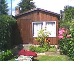Verkaufe Kleingarten mit Gartenlaube  im KGV Waldblick in Dresden-Weixdorf neben dem Waldbad