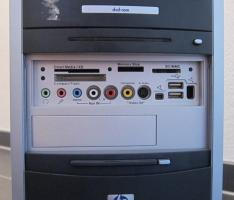 Foto 4 Verkaufe Komplett-PC (HP, 3,4Ghz., 250GB Festplatte)
