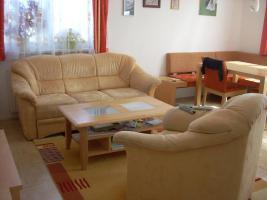 Verkaufe Mikrofaser Couch (+ 2 Couchsessel + Tisch)