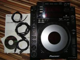 Verkaufe Pioneer CD-Player CDJ 900 (2,5 jahre alt)