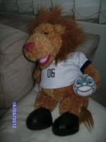 Foto 3 Verkaufe Plüsch Goleo Maskottchen ca.42 cm groß