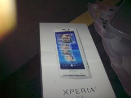Foto 2 Verkaufe hier ein Sony Ericson X 10 in Weiss