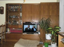 Verkaufe Wohnwand in Eiche Rustikal Echtholzfuriert