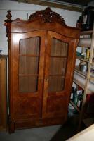Foto 4 Verkaufe antike Mahagoni Bar und eine antike Esche Glasvitrine!