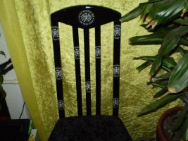 Verkaufe bemalte oder beklebte Stühle, Schränke Tische