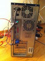 Foto 2 Verkaufe funktionsfähigen Compaq Desktop-PC (bei Bedarf inkl. Zubehör)