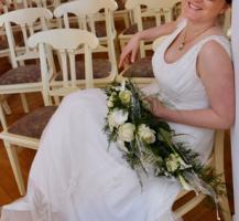 Verkaufe gebrauchtes Hochzeitskleid von TIA Bridal