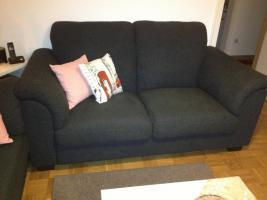 Verkaufe graue Couch 100.-