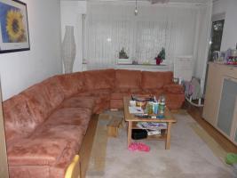 Foto 2 Verkaufe eine grosse Eck-Couch in Terracotta