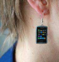 Verkaufe iPhone Ohrringe NEU