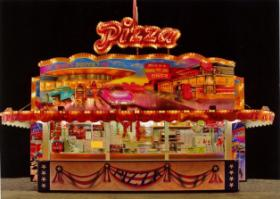 Verkaufe meinen Pizzaverkaufswagen, Schaustellerfahrzeug