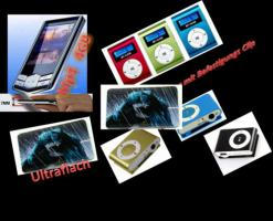 Verkaufe neue MP3 Mp 4 Player mit 4GB Speicher