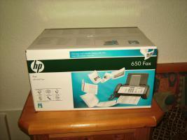 Verkaufe neues originalverpacktes HP Fax 650 um Euro 40, --!!!