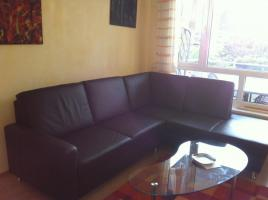 Verkaufe neuwertige Leder-Couch (Marke ADA)