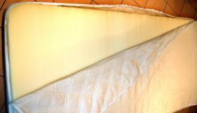Foto 3 Verkaufe neuwertige unbenutzte Schaumstoffmatratze Breite 90cm, Länge 200cm