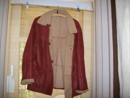 Verkaufe schöne Winter-Lederjacke