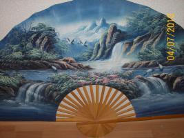 Foto 2 Verkaufe einen schönen  Fächer  zur Dekoration