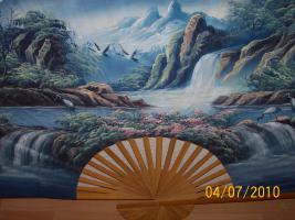 Foto 3 Verkaufe einen schönen  Fächer  zur Dekoration