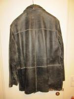 Foto 2 Verkaufe schwarze Lederjacke, neu (nie getragen). VB: Euro 85, -