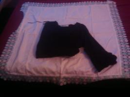 Verkaufe schwarzen langärmlichen Pullover