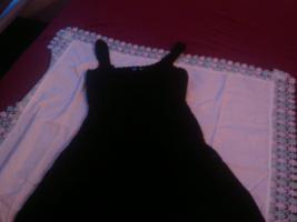 Verkaufe schwarzes kurzes Strickkleid