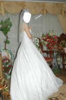 Foto 2 Verkaufe ein sehr schönes/ ''pompöses'' Brautkleid, Gr.36