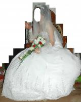 Foto 3 Verkaufe ein sehr schönes/ ''pompöses'' Brautkleid, Gr.36