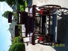 Foto 3 Verkaufe weinroten Marathonwagen
