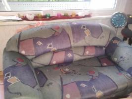 Foto 2 Verkaufen hier unsere Couchgarnitur