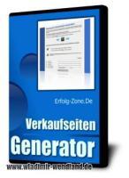 Verkaufsseiten Generator incl. Master Reseller Recht