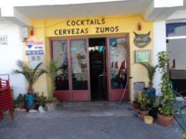 Verpachte Cocktailbar im Naturpark nähe Almeria-Spanien, grosse Terasse