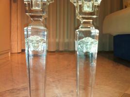 Versace Rosenthal Kerzenhalter - Medusa Gorgona Glatt Leuchter