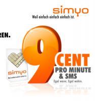 Verschenke  Simyo Prepaidkarte mit 5� Startguthaben