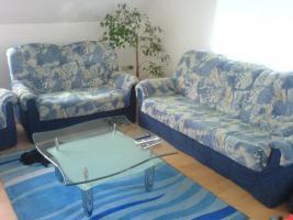 Verschenken Wohnzimmercouch 3,2 Sitzer mit Sessel
