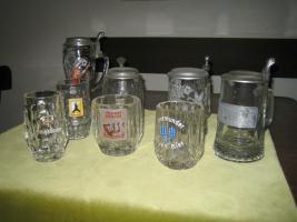 Foto 5 Verschiedene Bierkrüge