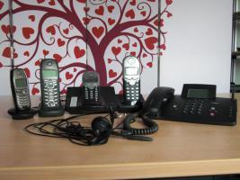 Verschiedene ISDN Telefone + Mobilteile