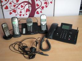 Foto 2 Verschiedene ISDN Telefone + Mobilteile