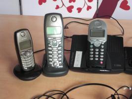 Foto 3 Verschiedene ISDN Telefone + Mobilteile