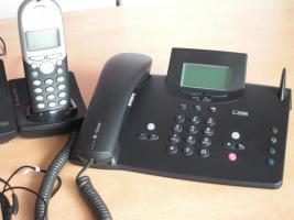 Foto 4 Verschiedene ISDN Telefone + Mobilteile