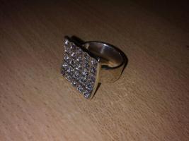 Foto 4 Verschiedene Ringe silber 925 Gr. 58